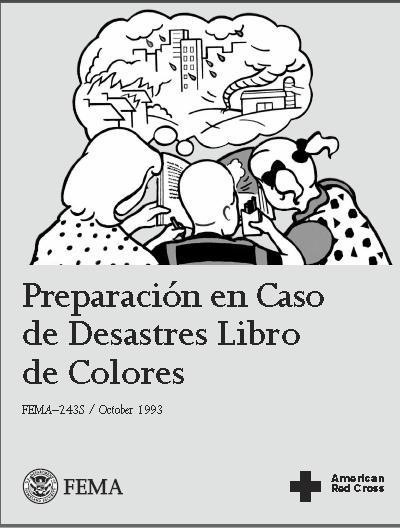 LIBRO DE COLORESPREPARACION EN CASO DE DESASTRESCRUZ ROJA  PARA