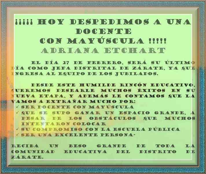 2009 marzo 03 « PARA JEFATURAS REGIONALES Y DISTRITALES
