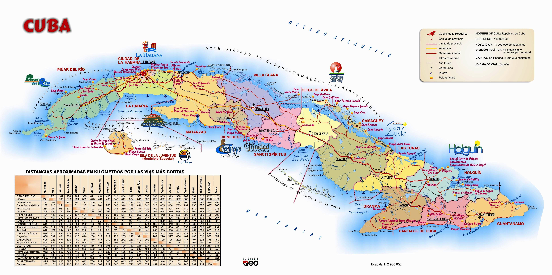 Mapa turistico de Cuba  Cuba  Pinterest  Cuba and Spanish culture