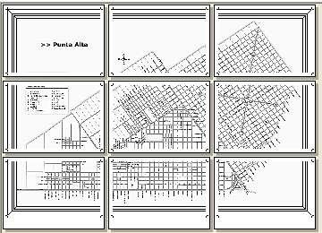 Mapa mural plano de la ciudad de punta alta 3x3 hojas carta para anuncios thecheapjerseys Images