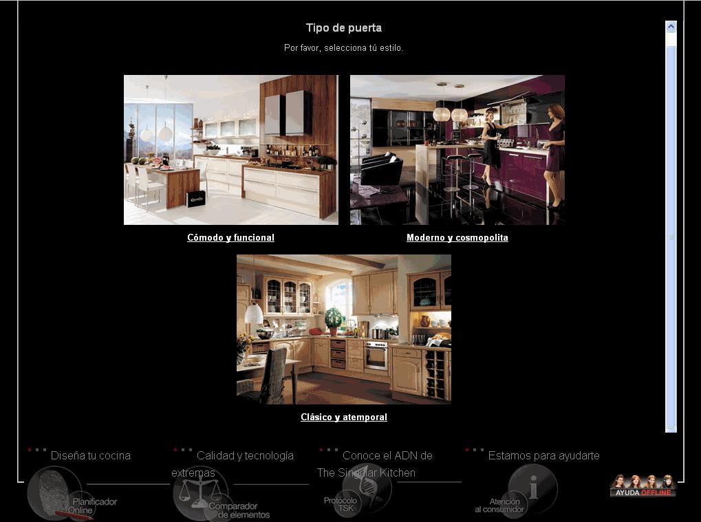 Simulador dise a tu cocina para jefaturas regionales y - Simulador de cocinas ...