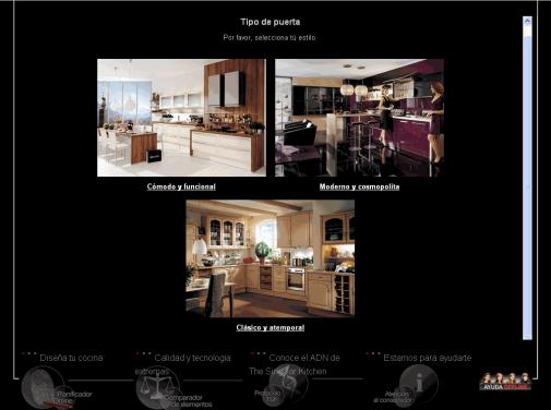 Simulador dise a tu cocina para jefaturas regionales y for Simulador de cocina