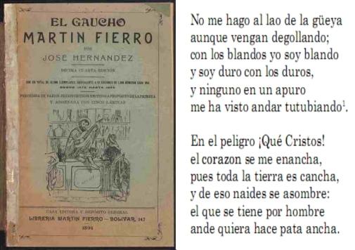 martin fierro poema completo pdf