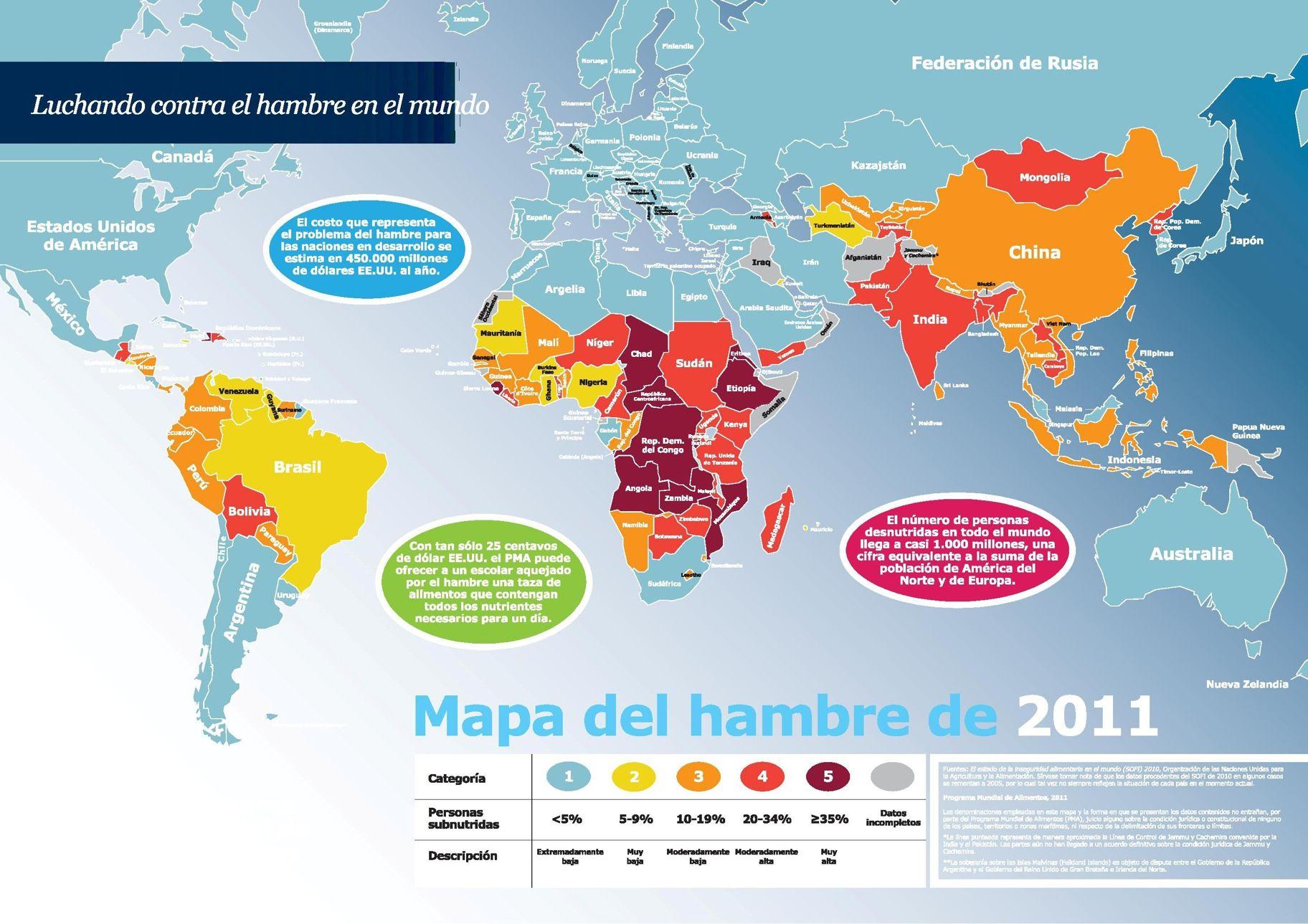 Mapa Del Hambre 2017.Problemas Mahesther