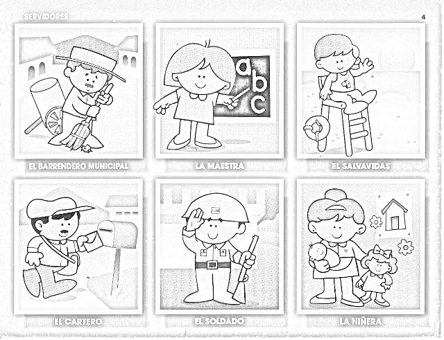 Imagenes para colorear de los derechos de los niños en la ...