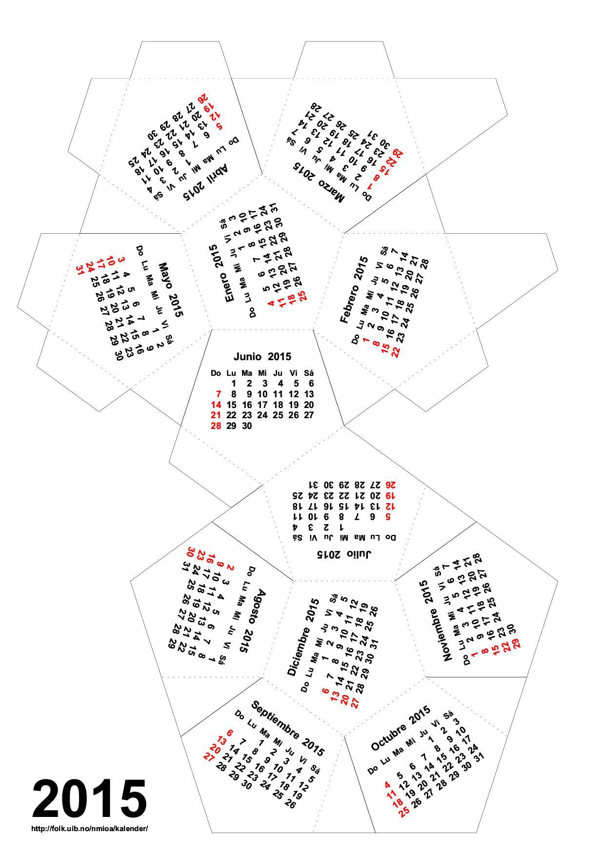 calendarios  u2026 calendarios u2026     2015  u00ab para jefaturas