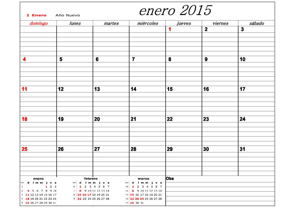 CALENDARIO2015 ARG