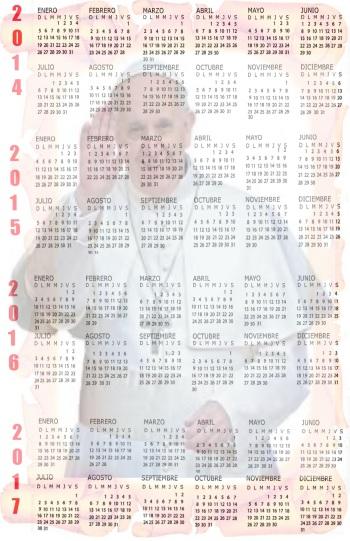 click plantilla calendario gratis calendario año 2015 para imprimir