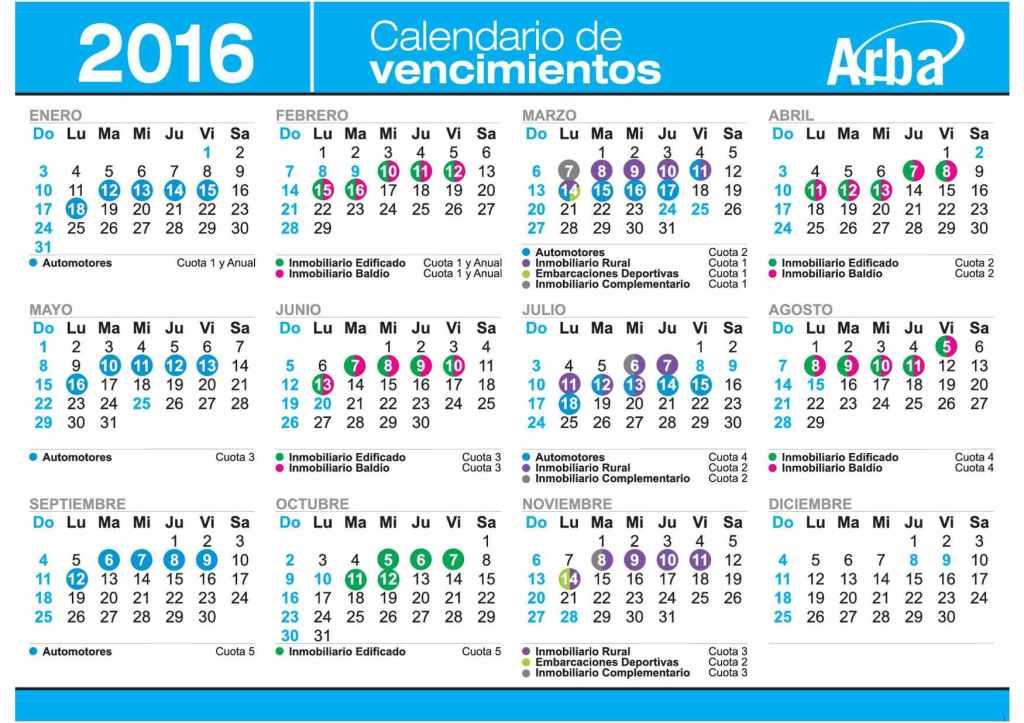 Calendario2016