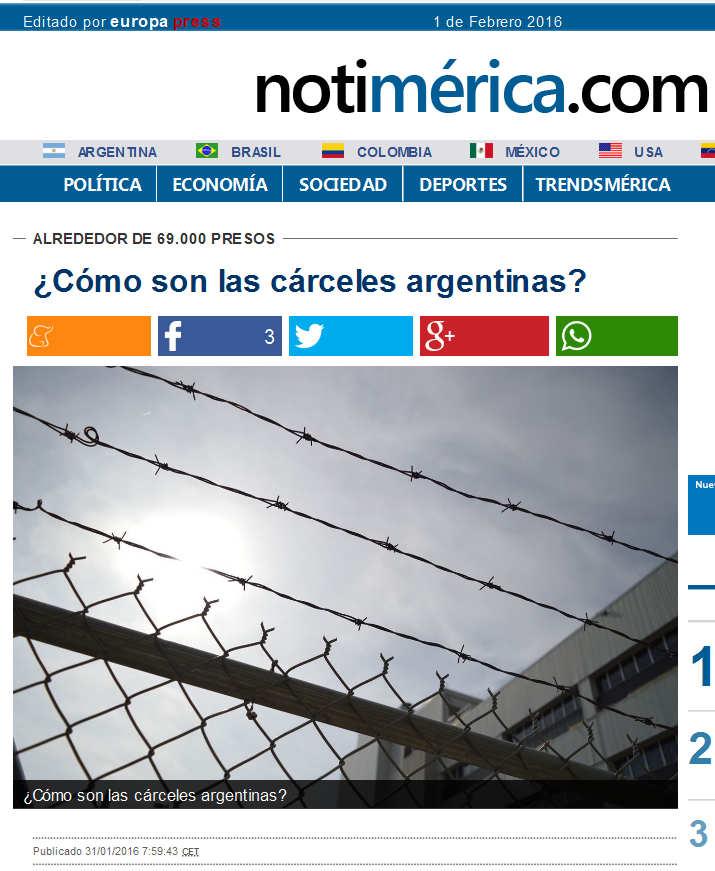 Cómo son las cárceles argentinas