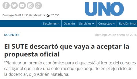 El SUTE descartó que vaya a aceptar la propuesta oficial - docentes, Jaime Correas, Dirección General de Escuelas