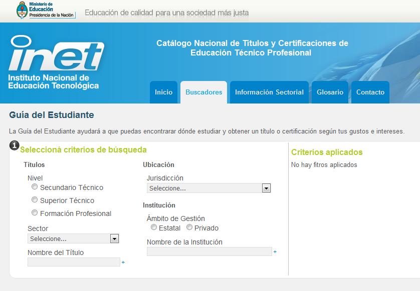 Guía del Estudiante - Catálogo Nacional de Títulos y Certificaciones de Educación Técnico Profesional