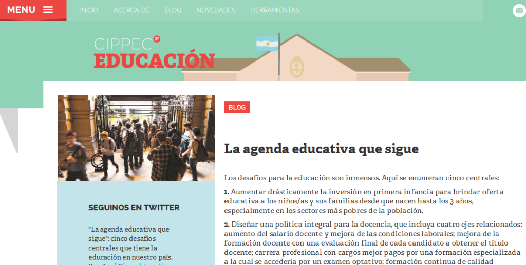 La agenda educativa que sigue - Cippec Educacion