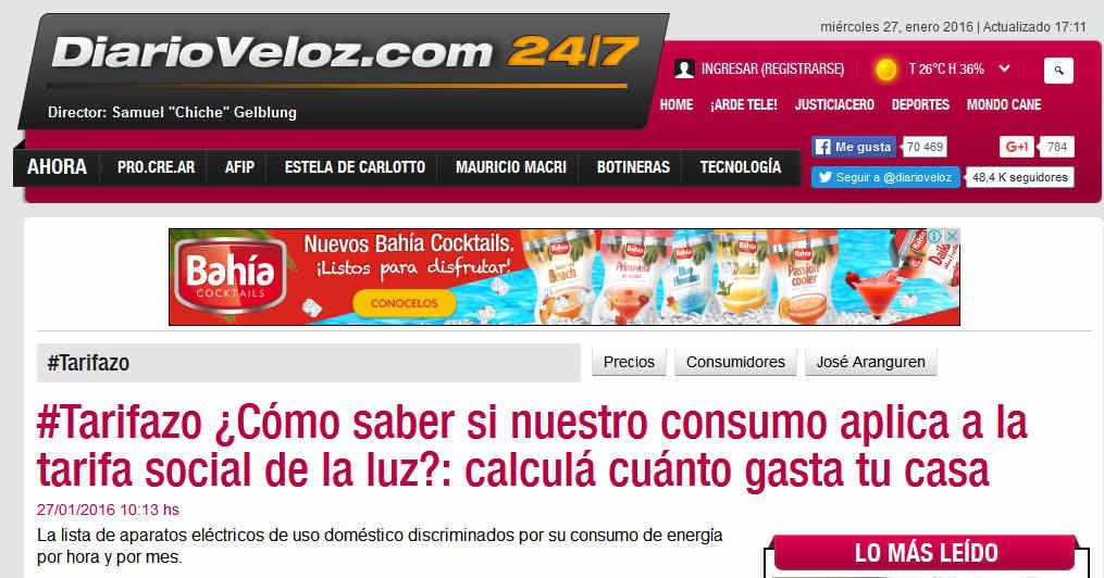 #Tarifazo Cómo saber si nuestro consumo aplica a la tarifa social de la luz calculá cuánto gasta tu casa - Precios, Consumidores, José Aranguren