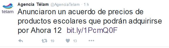 Agencia Télam (@AgenciaTelam) - Twitter