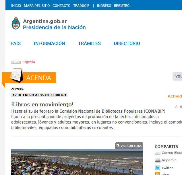 Argentina - ¡Libros en movimiento!