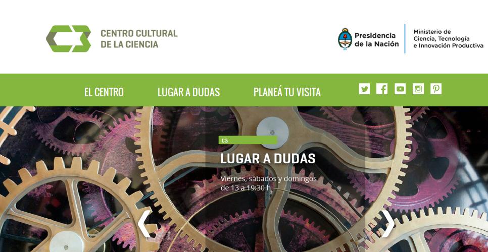 C3 . Centro Cultural de la Ciencia - República Argentina