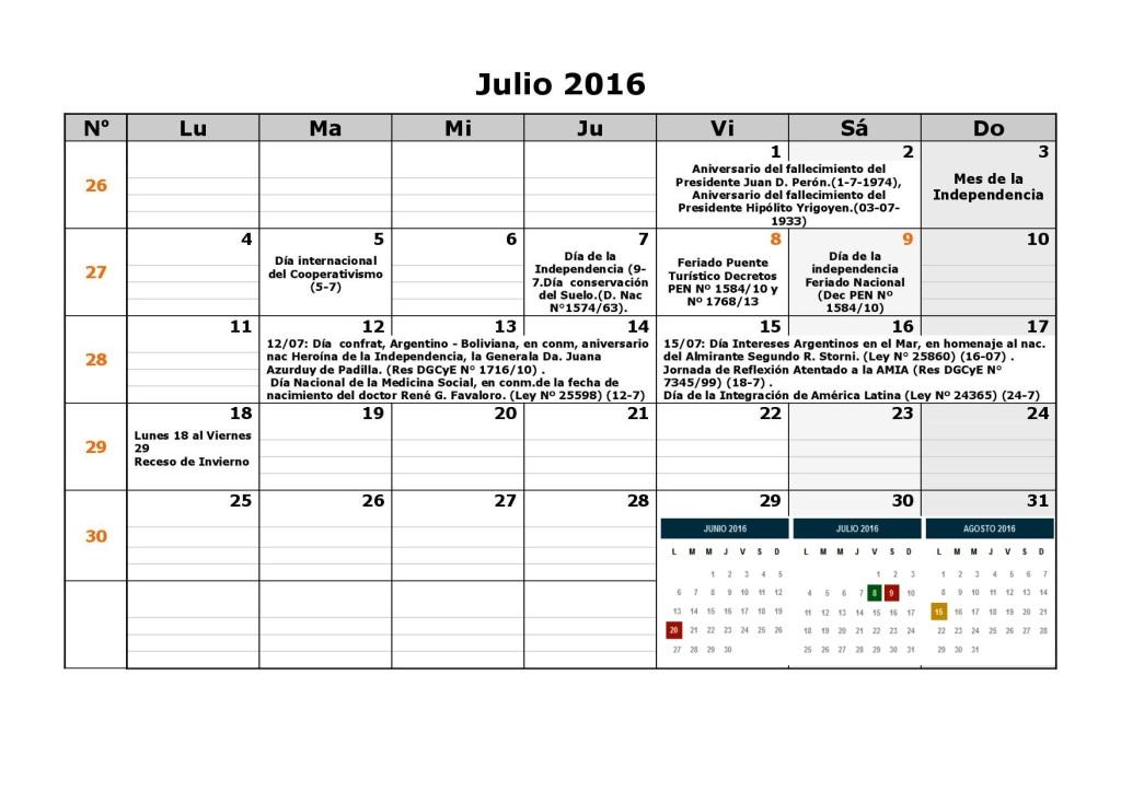 Calendario escolar dgcye 1er semestre resol7-16 7