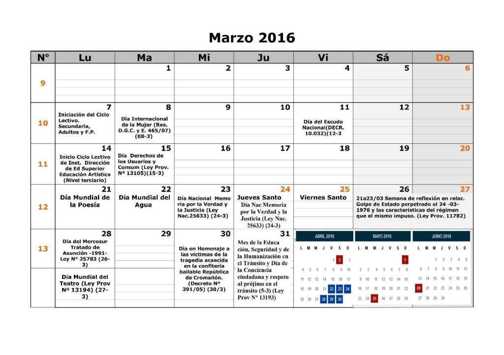 Calendario escolar dgcye 1er semestre resol7-163
