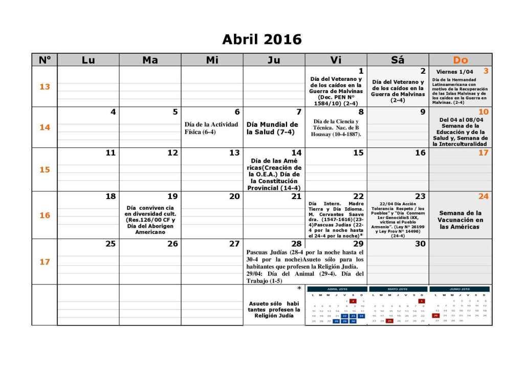 Calendario escolar dgcye 1er semestre resol7-164