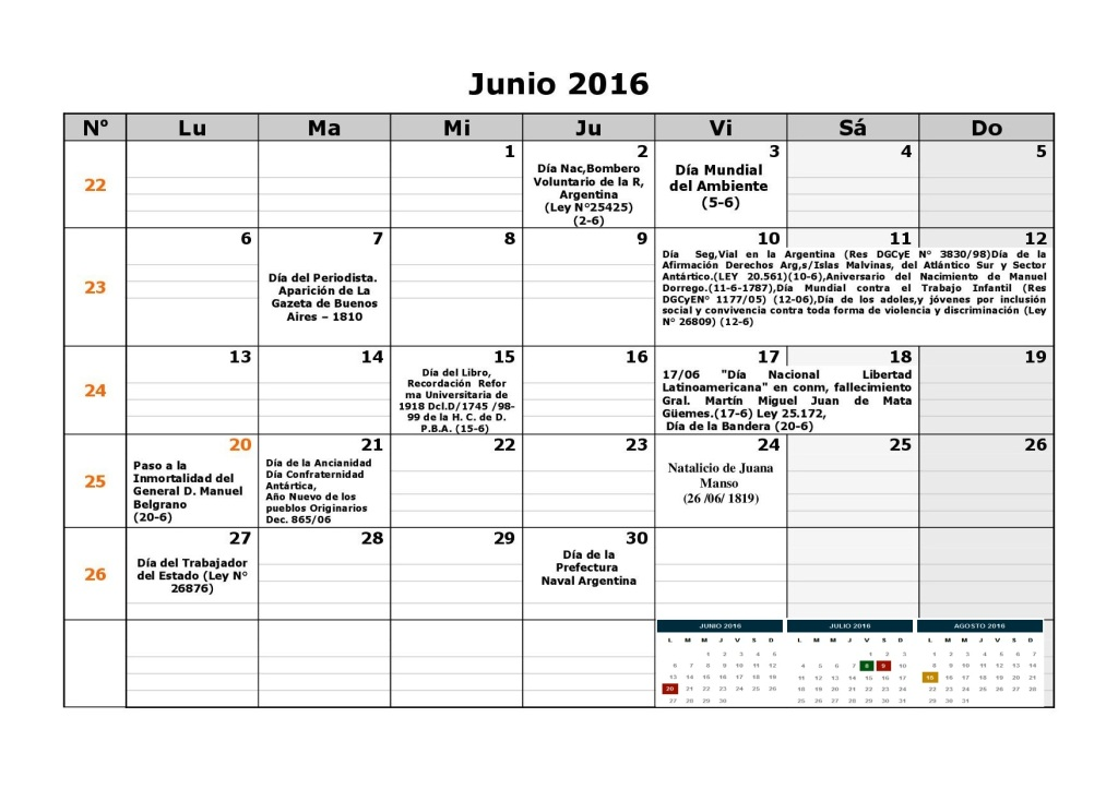 Calendario , calendarios …. 2016 para Argentina, 3 anuales , 3 ...