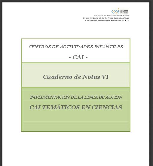 Capítulo I - Cuaderno de Notas VI - Implementación de los CAI TEMÁTICOS EN CIENCIAS.pdf(1)
