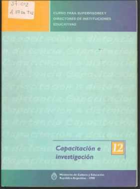 Curso para supervisores y directores de instituciones educativas capacitación e investigación