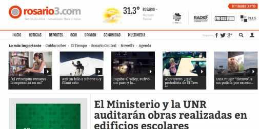 El Ministerio y la UNR auditarán obras