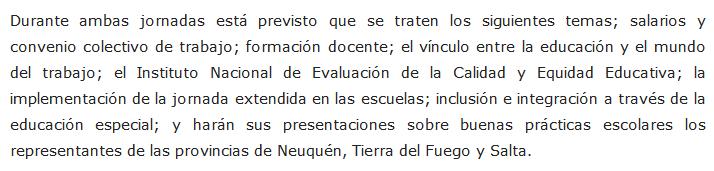 Esteban Bullrich encabezará el Consejo Federal de Educación en Jujuy - Jujuy al Día