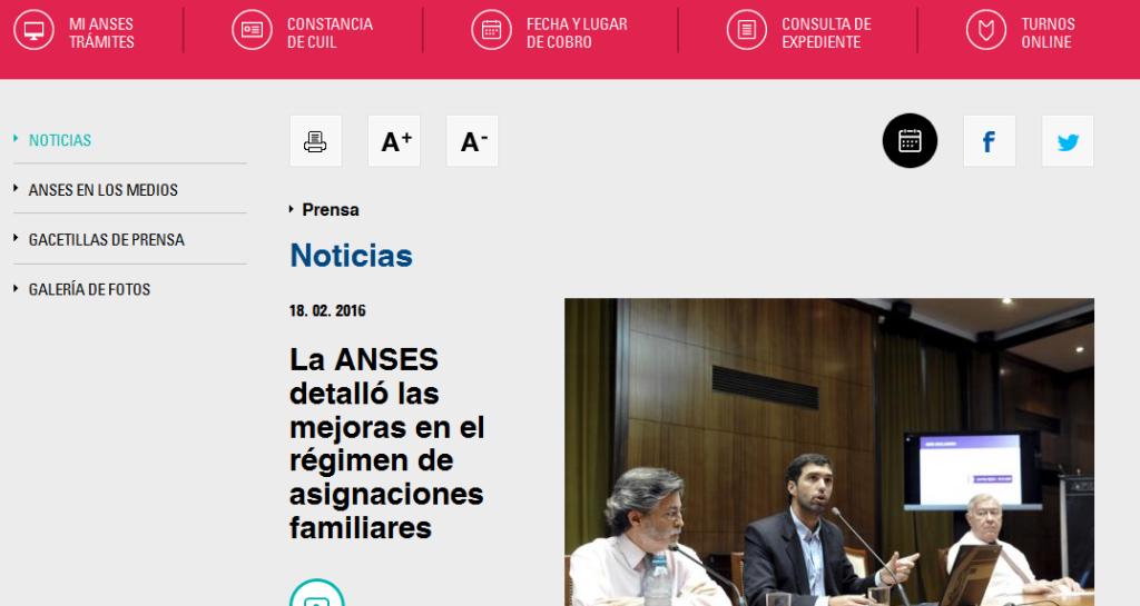 La ANSES detalló las mejoras en el régimen de asignaciones familiares - Noticias - ANSES
