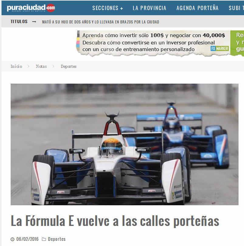 La Fórmula E vuelve a las calles porteñas – Pura Ciudad - Noticias de Buenos Aires