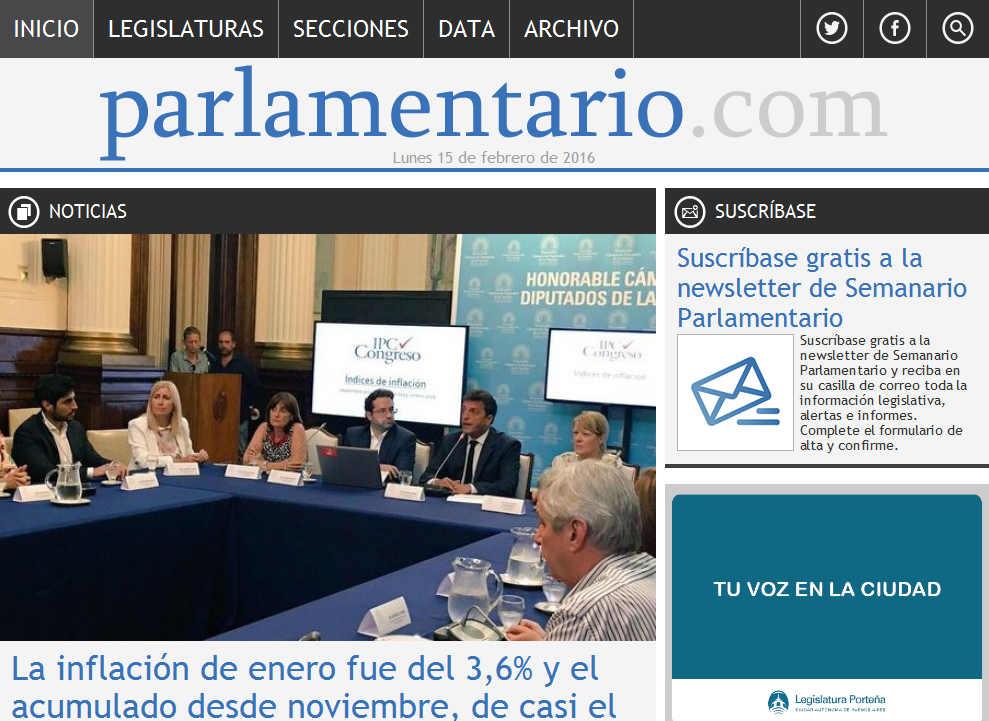 La inflación de enero fue del 3,6% y el acumulado desde noviembre, de casi el 10% - Noticias - Parlamentario