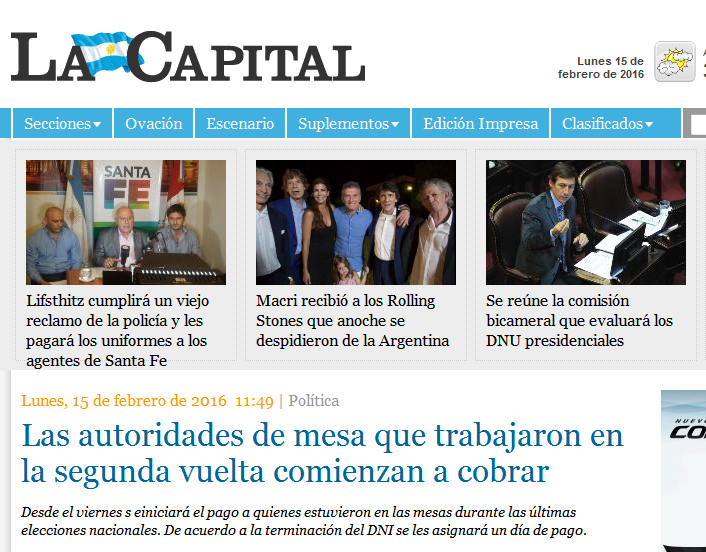 Las autoridades de mesa que trabajaron en la segunda vuelta comienzan a cobrar - Política - La Capital de Rosario -