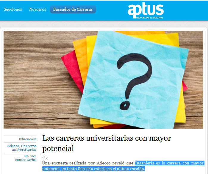 Las carreras universitarias con mayor potencial