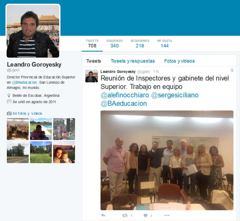 Leandro Goroyesky (@Lgoro) - Twitter