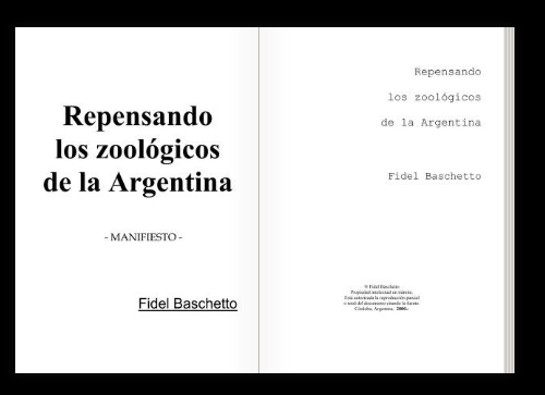 Libro Repensando Los Zoológicos De La Argentina Por Fidel Baschetto Free Download & Streaming Internet Archive