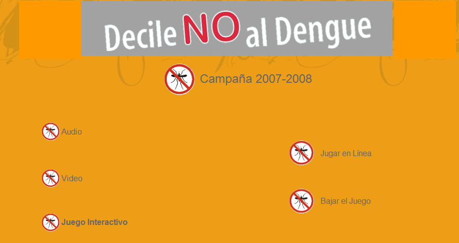 MSP - Decile NO al Dengue