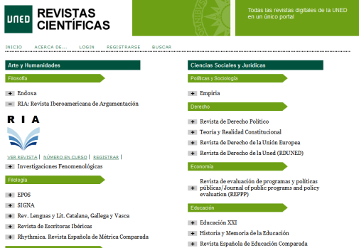 Portal de Revistas de la UNED