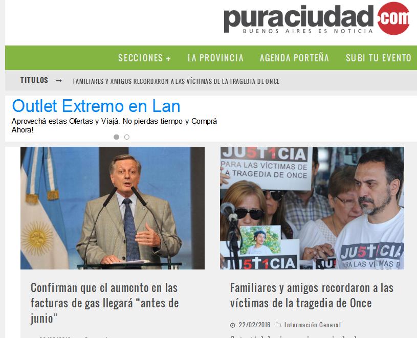 Pura Ciudad - Noticias de Buenos Aires – Información actualizada las 24 horas.
