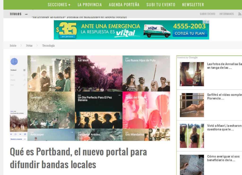 Qué es Portband, el nuevo portal para difundir bandas locales – Pura Ciudad - Noticias de Buenos Aires