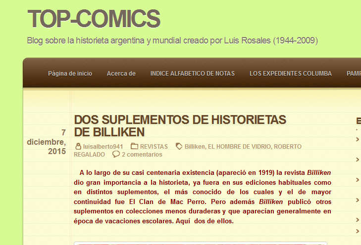 REVISTAS - TOP-COMICS