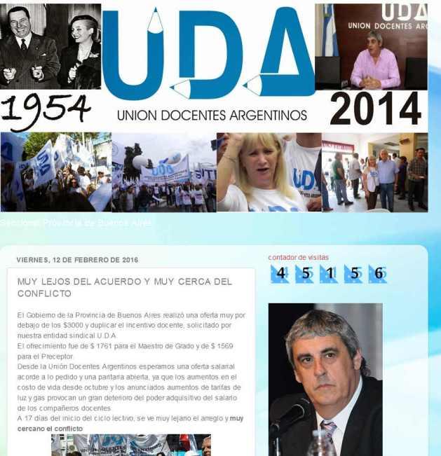 UDA seccional provincia de Buenos Aires MUY LEJOS DEL ACUERDO Y MUY CERCA DEL CONFLICTO