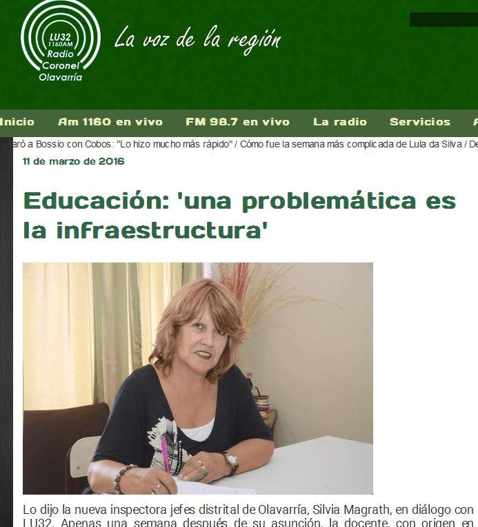 Educación 'una problemática es la infraestructura'