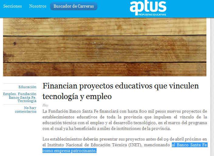 Financian proyectos educativos que vinculen tecnología y empleo