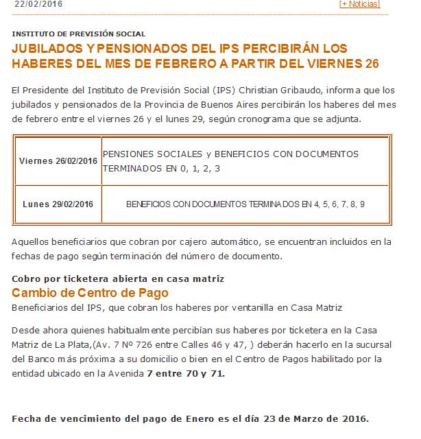 Aumento De Jubilados 2016 En El Mes De Mayo | pago a