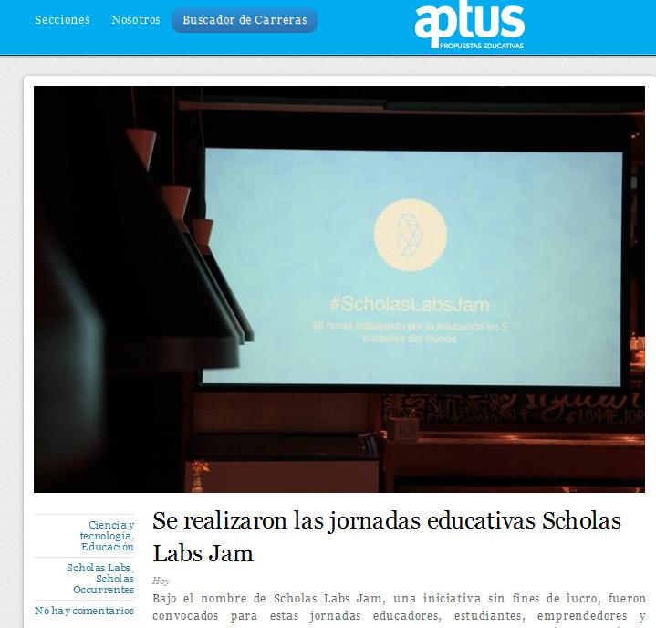 Se realizaron las jornadas educativas Scholas Labs Jam