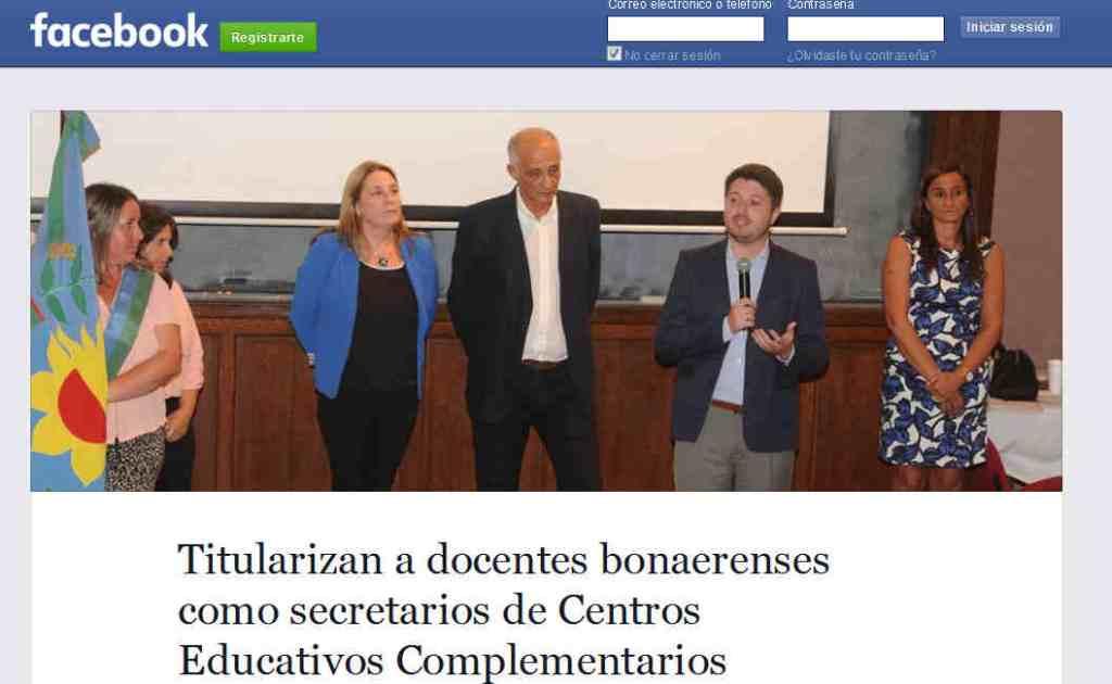 Titularizan a docentes bonaerenses como secretarios de Centros Educativos Complementarios