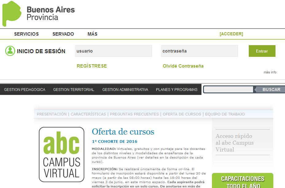 DPTI - Servicios ABC - Dirección Provincial de Tecnología de la Información