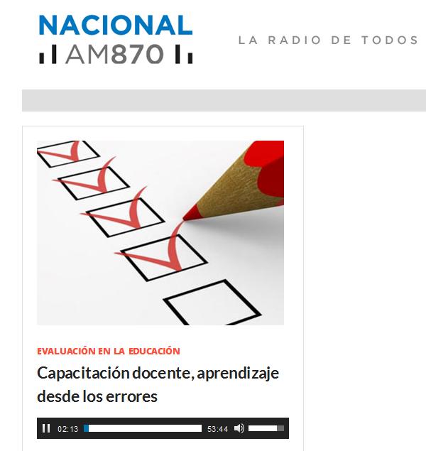 Elena Duro – Radio Nacional Argentina