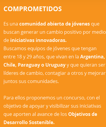 COMPROMETIDOS 2016 · TU ACTITUD TRANSFORMA